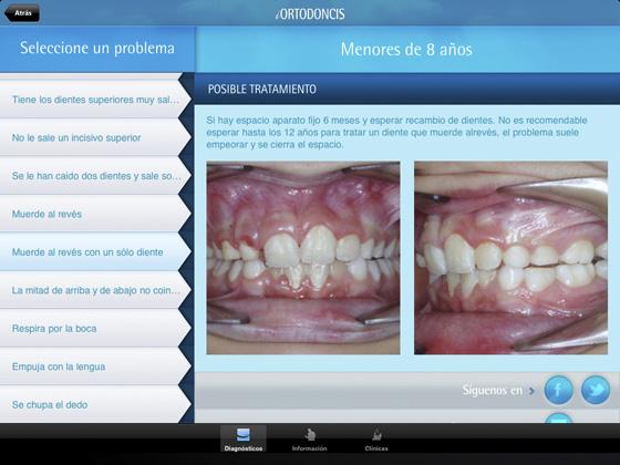 Captura iPad iOrtodoncis