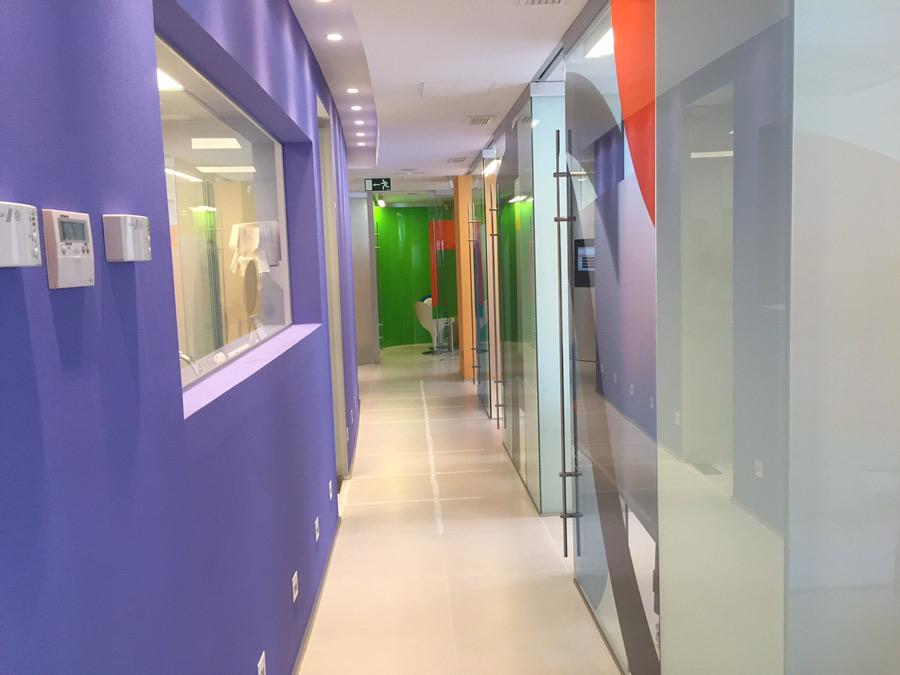 Pasillos gabinetes