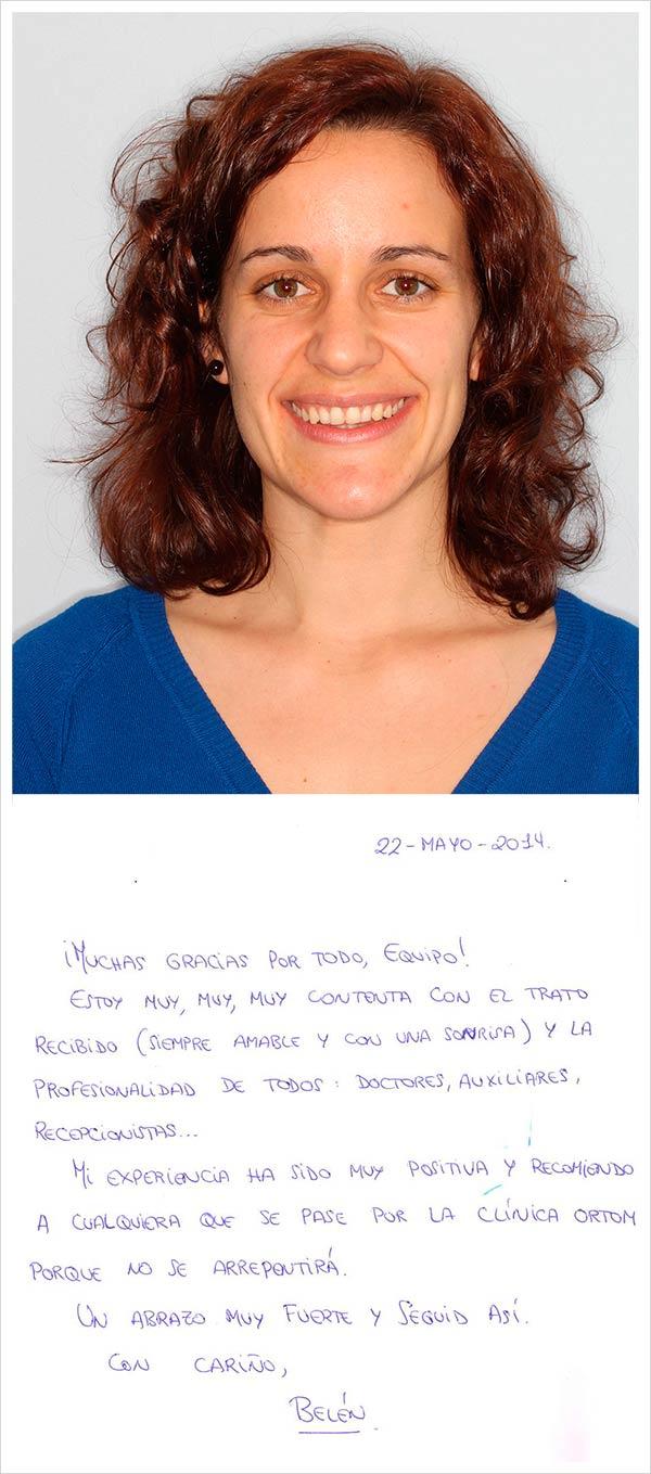 Testimonio de ortodoncia fija zafiro