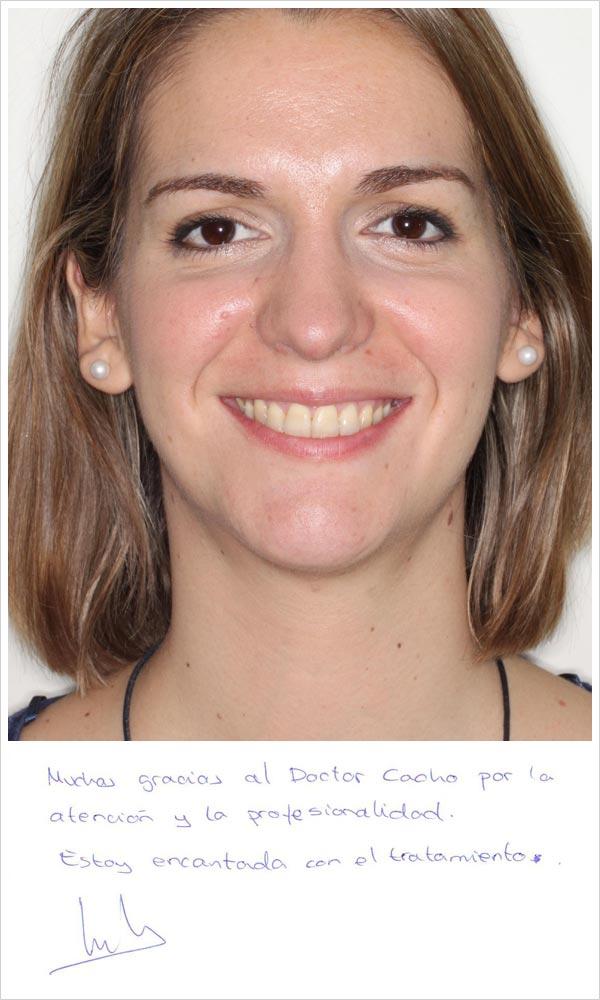 Testimonio ortodoncia zafiro