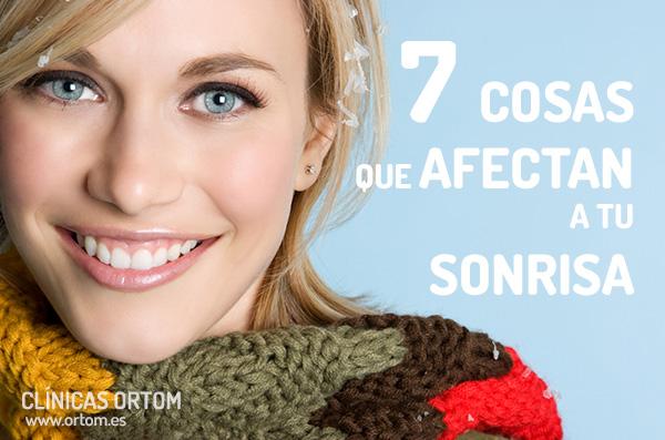 7 cosas que afectan la sonrisa